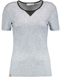 Monreal London - Perforated Stretch-knit Tank - Lyst