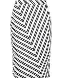 Altuzarra - Celandrine Striped Wool-blend Skirt - Lyst