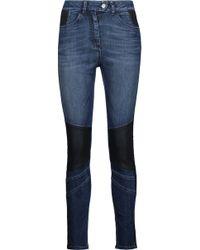 Belstaff - Asha Paneled High-rise Skinny Jeans - Lyst