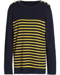 Petit Bateau - Striped Cotton Jumper - Lyst