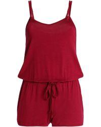 Heidi Klum - Jersey Pyjama Playsuit - Lyst