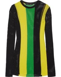 Proenza Schouler - Striped Open-knit Jumper - Lyst