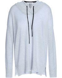 Duffy - Neon-trimmed Cashmere Hoodie - Lyst