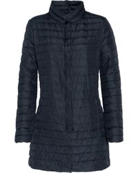 Duvetica - Elare Quilted Shell Down Coat Midnight Blue - Lyst