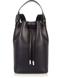 Iris & Ink | - Camden Leather Backpack - Midnight Blue | Lyst