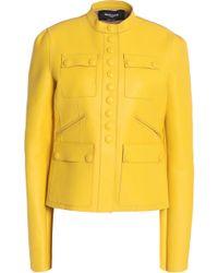 Rochas - Leather Jacket - Lyst