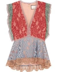 Alexis | Kirk Lace Top | Lyst