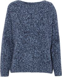 Vince - Medium Knit Storm Blue - Lyst