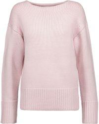 MILLY - Stevie Wool Sweater - Lyst