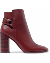 MERCEDES CASTILLO - Carey Leather Ankle Boots - Lyst
