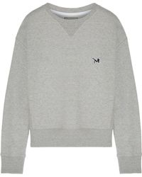 Calvin Klein - French Cotton-terry Sweatshirt - Lyst