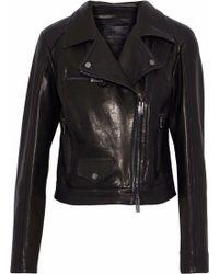 DROMe - Leather Biker Jacket - Lyst