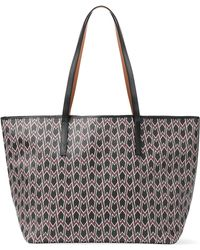 Maje | Printed Faux Leather Tote Bag | Lyst