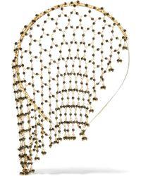 Rosantica - Carmen Gold-tone Onyx Headband - Lyst