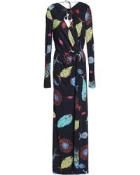 Emilio Pucci - Knotted Printed Stretch-jersey Gown - Lyst