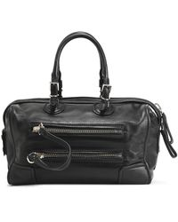 Valentino - Leather Weekend Bag - Lyst