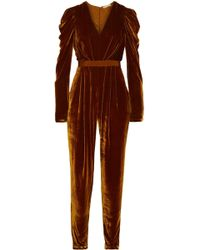 Ulla Johnson - Velvet Jumpsuit - Lyst