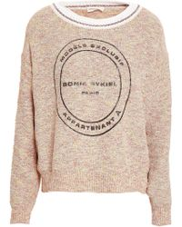 Sonia Rykiel - Printed Knitted Sweater - Lyst