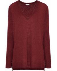 Soft Joie - Woman Khari Crochet-knit Sweater Brick - Lyst