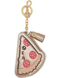 Anya Hindmarch - Embossed Metallic Textured-leather Coin Purse - Lyst