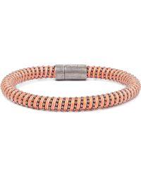 Carolina Bucci | Gunmetal-tone Woven Bracelet | Lyst