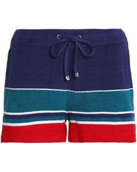 Orlebar Brown - Striped Cotton-terry Shorts - Lyst