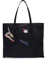 Marc Jacobs - Embellished Embroidered Shell Tote - Lyst