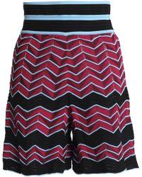 M Missoni - Jacquard-knit Shorts - Lyst