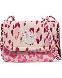 Hill & Friends - Happy Mini Leopard-print Calf Hair Shoulder Bag - Lyst