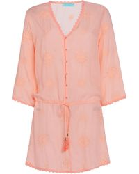 Melissa Odabash - Broderie Anglaise Top - Lyst