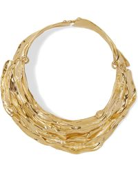 Annelise Michelson - Draped Gold-plated Choker - Lyst