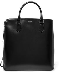 Rochas - Leti Glossed-leather Tote - Lyst
