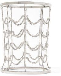 MM6 by Maison Martin Margiela - Silver-tone Bracelet - Lyst