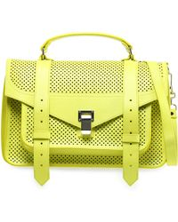Proenza Schouler - Ps1 Medium Perforated Leather Tote - Lyst