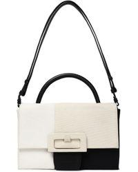 Maison Margiela - Color-block Canvas Shoulder Bag - Lyst
