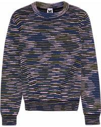 M Missoni - Knitted Jumper - Lyst