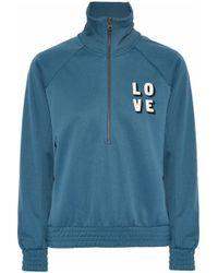 Love Stories - Harvey Printed Jersey Sweatshirt - Lyst