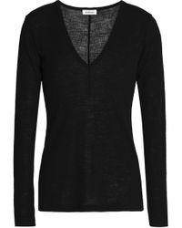 Totême  - Ribbed Wool Top - Lyst