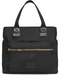 Marc By Marc Jacobs - Eliza Leather-trimmed Shell Tote - Lyst