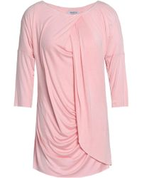 Bailey 44 - Stretch-jersey Top Baby Pink - Lyst