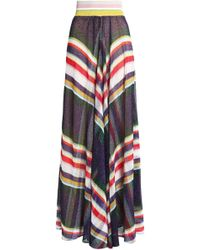 Missoni - Metallic Crochet-knit Maxi Skirt - Lyst