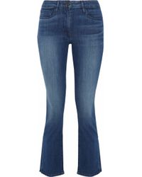 3x1 - Stanley Faded Mid-rise Kick-flare Jeans - Lyst