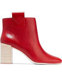 MERCEDES CASTILLO - Bailee Leather Ankle Boots - Lyst