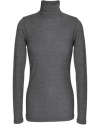 Duffy - Ribbed Stretch-jersey Turtleneck Top - Lyst