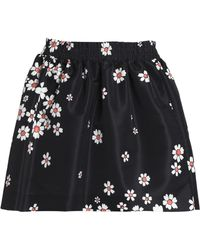 RED Valentino - Faille Mini Skirt - Lyst