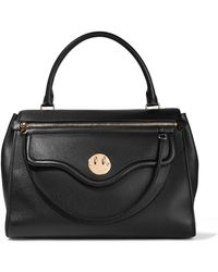 Hill & Friends - Happy Zippy Textured-leather Tote - Lyst