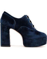 Marc Jacobs - Velvet Court Shoes - Lyst