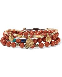 Chan Luu - Set Of Three Beaded Bracelets - Lyst