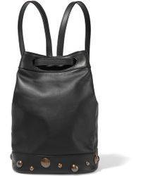 Tomas Maier - Embellished Leather Backpack - Lyst