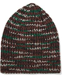 M Missoni - Knitted Wool-blend Beanie - Lyst